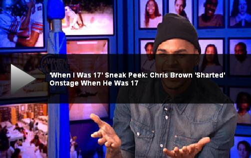 Chris Brown Recalls Embarrassing Tour Memories On 'When I Was 17′
