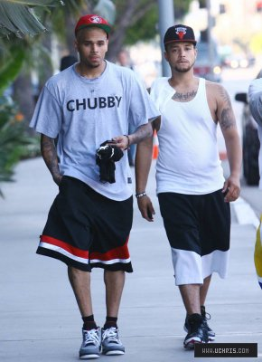 Chris Brown Hits the Gym in L.A