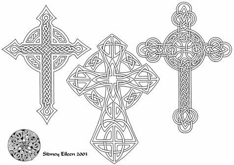 dessin: croix