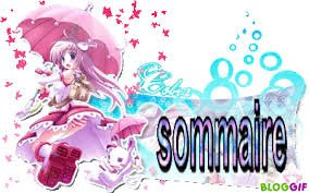 SOMMAIRE ;p <3