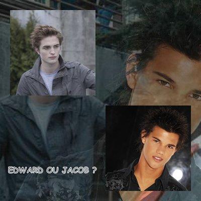 Edward ou Jacob ?