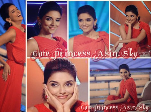 """Asin at """"India's Most Desirable Talk Show"""""""