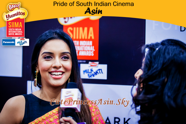Asin @ SIIMA Award 2013