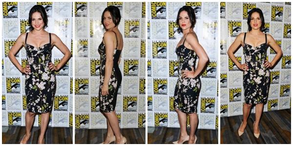 Lana était à la Press Room lors du Comic Con se déroulant à San Diego le 26 juillet
