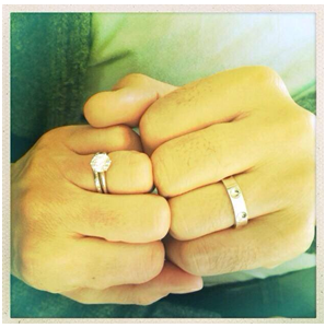 La magnifique Lana Parrilla et le beau Fred Diblasio se sont mariés!! FELICITATIONS !!!♥♥