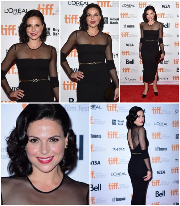 """Lana était présente au TIFF à la premier du film """"Top Five"""" le 6 septembre"""