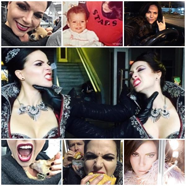 Pleins pleins de photos postés par Lana Parrilla elle même !!!!!** :D