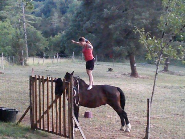 mon cheval et moi <3