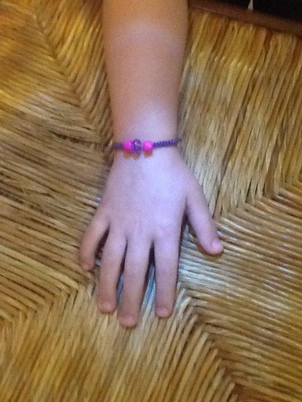 Bracelet à la façon samballa. Taille adulte ou enfants