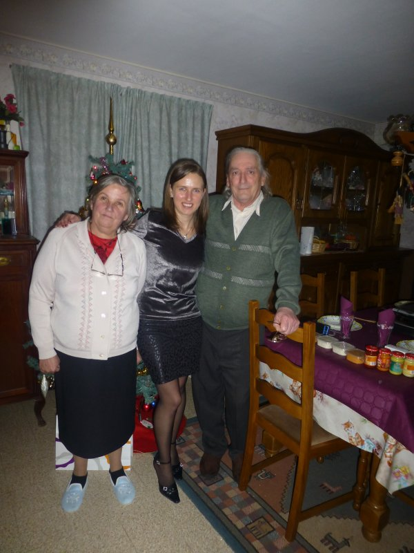 La nouvelles année 2013 chez mes beau parents