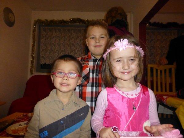 Nous avons passé un trés trés bon réveillon chez mon petit frère et ma belle soeur