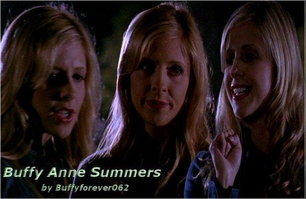 Présentation Personnages Buffy Anne Summers, la seule et l'unique :)