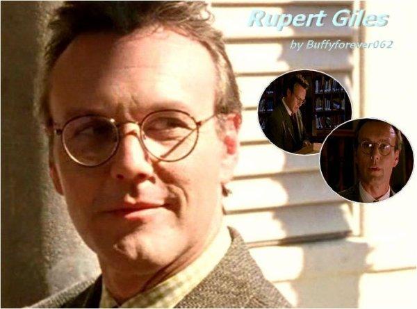 Présentation Personnages Rupert Giles, L'Observateur dévoué :)