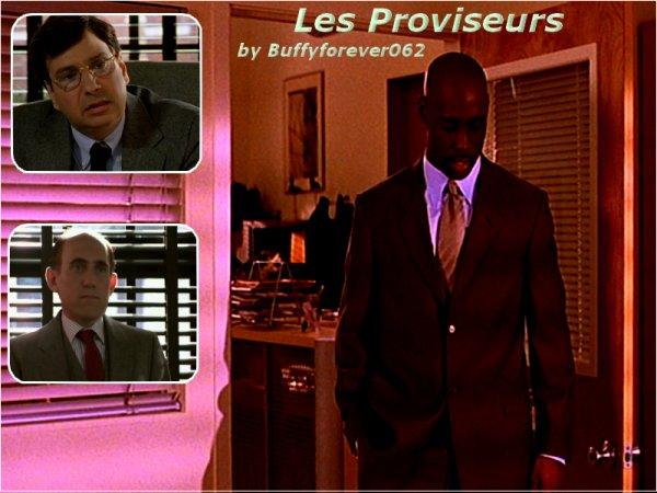 Présentation Personnages Snyder, Flutie et Wood, Les Proviseurs :)