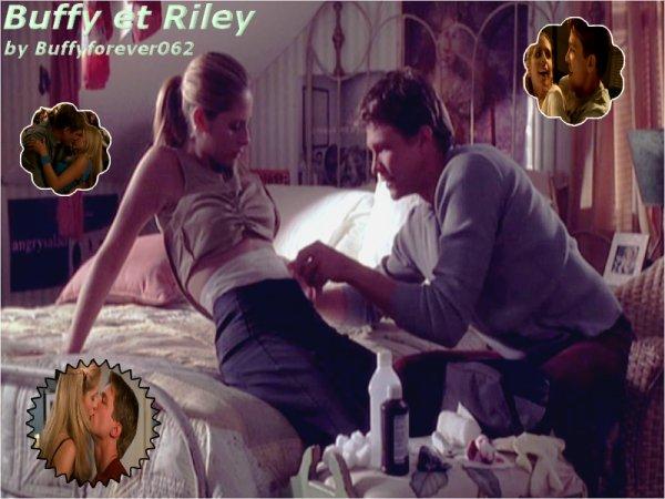 Couples Buffy et Riley (l)
