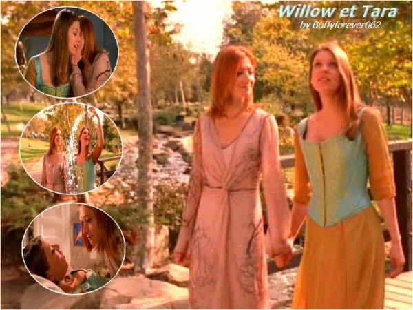 Couples Willow et Tara (l)