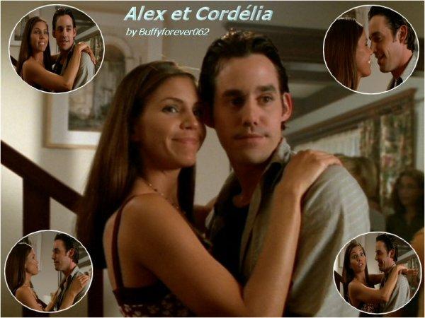 Couples Alex et Cordélia (l)