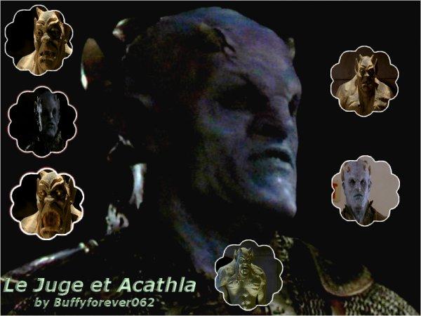 Présentation Personnages Le Juge et Acathla :)