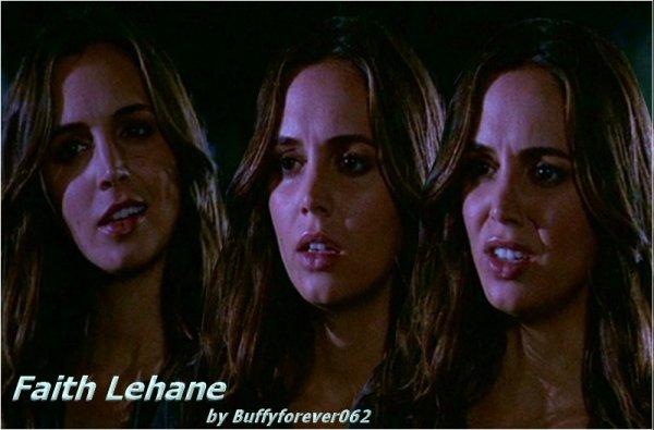 Présentation Personnages Faith Lehane, la Tueuse Rebelle :)