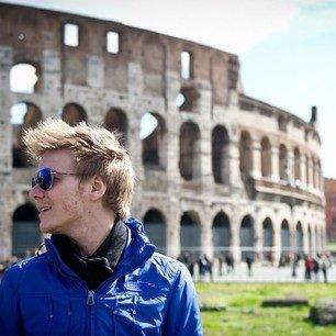 Michel à Rome.