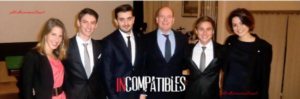 Léa François et sa  Team Incompatibles photo perso de Léa