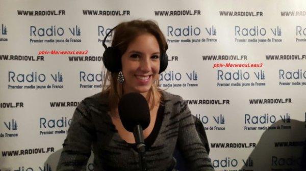 Léa François dans  Réveil Médias sur Radio VL