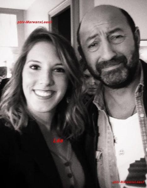 """Léa François  enregistrement de l'émission """"C à vous"""", et Festival Les Héros de télé au Beau soleil"""