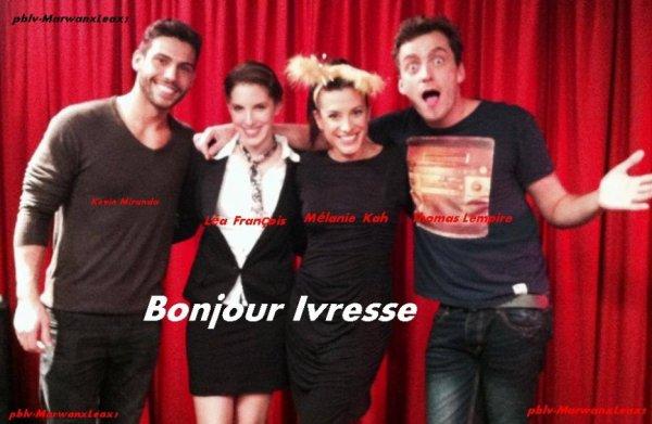 Photo poster par Marwan Berreni et bonjour Ivresse avec Léa François