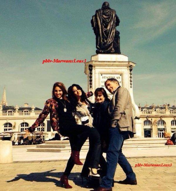 Photo Léa , Cécilia, Fabienne, Alexandre était à Nancy