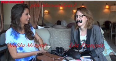 Léa François avec Mélanie Kah et Léa avec Malika Ménard - Miss France 2010