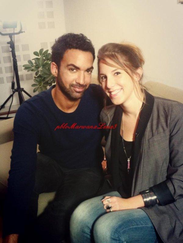 Coline D'inca & Marwan Berreni délires  Léa et Joakim matinée Interview  Léa François Noel