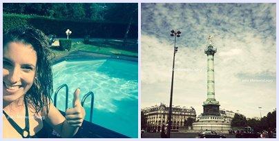 Article 174  Léa et les photos perso Marwan et son actu vacances amis