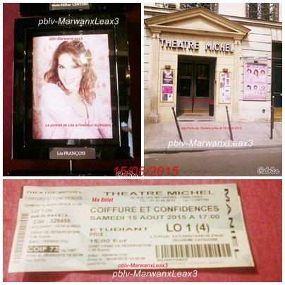 Ma Rencontre avec Léa François le Samedi 15 Août 2015