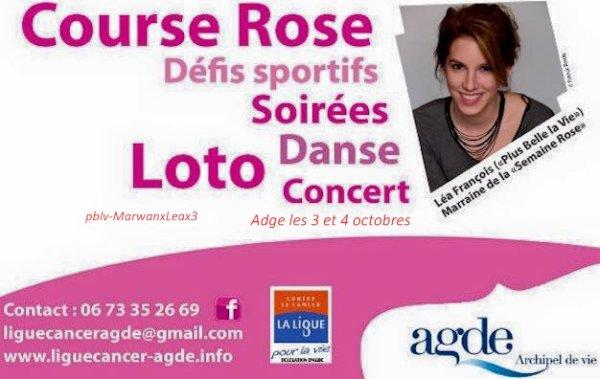 photo personnelle de Marwan et Léa , la belle sera présente à Agde le 3 et 4 octobre 2015