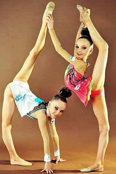 Dina et Arina Averina