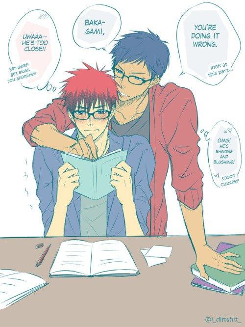 Trop cute ^^ !!! Kagami est juste trop kawai ! ^^