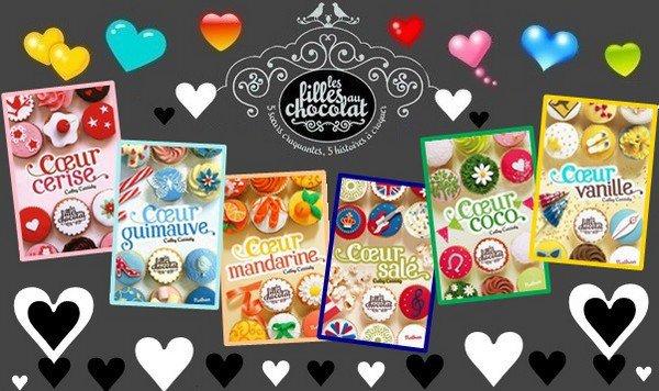 La série Les filles au chocolat par Cathy Cassidy