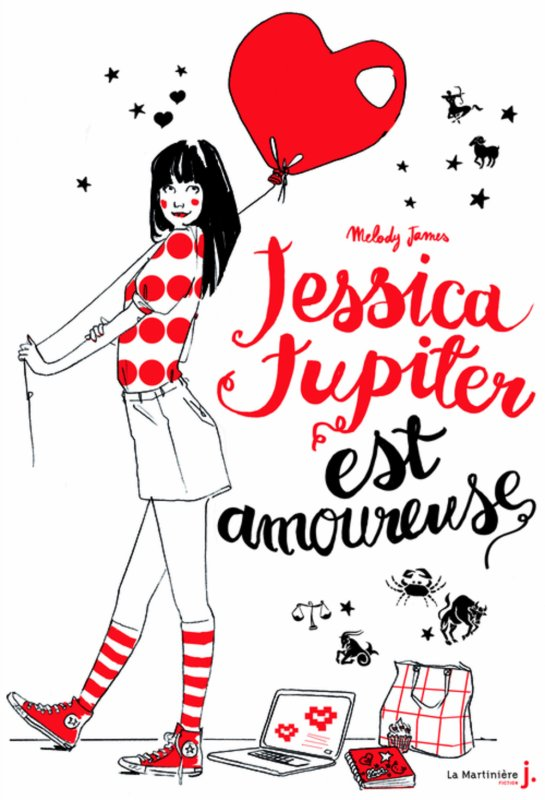 Jessica Jupiter est amoureuse (tome 4) - Mélody James