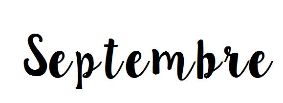[Bilan n°9] Septembre 2016