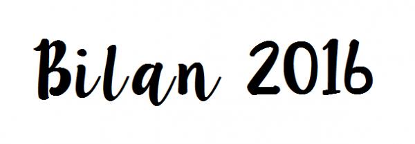 Bilan 2016, autant de belles choses en une année?