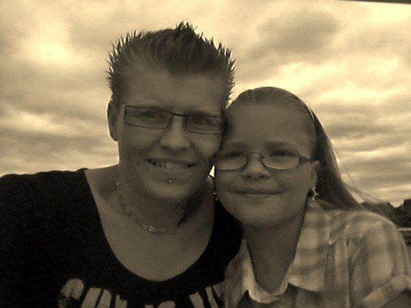 moi et ma fille maeva