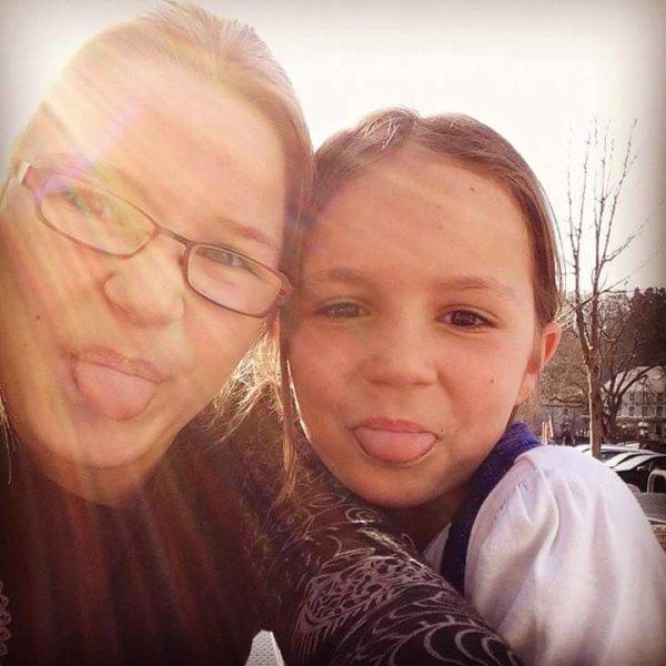 ma filleulle alexia et ma fille