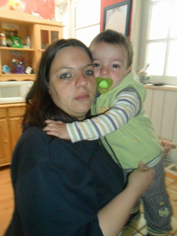 moi et mon fils thibaut