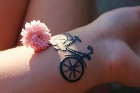 """""""  Le vélo dans la peau """""""