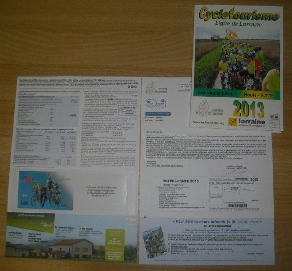 Nouvelle Licence 2013