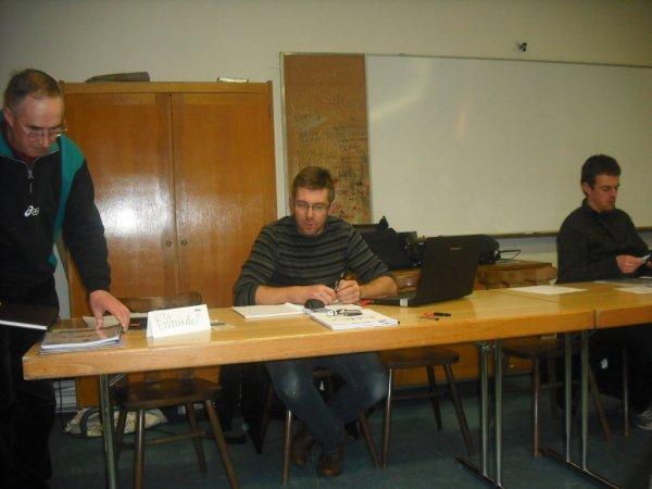Assemblée Générale d'ouverture de saison  vendredi 01/03/13