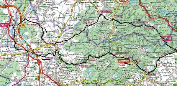 Sortie Longue du 25/10/14 - Arnsbourg