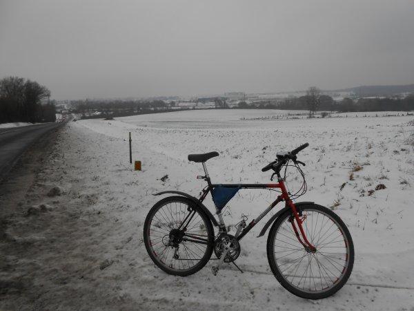 Mardi 30/12/14 Vélo-Boulot !