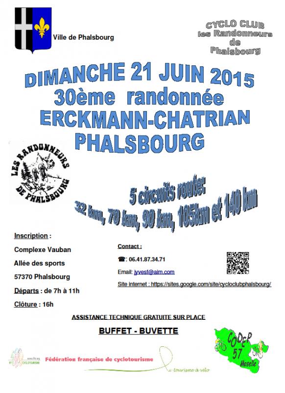 Sort. Ext : Phalsbourg  21/06/15
