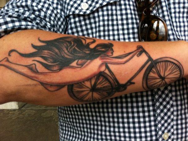 Le vélo dans la peau !